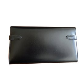 Hermès-Kelly wallet-Black