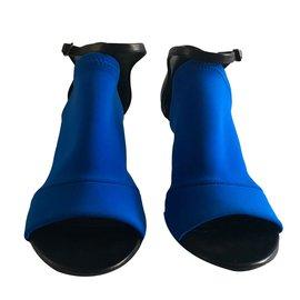 Balenciaga-Sandales-Bleu