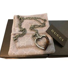 Gucci-Collier-Argenté