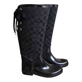 Coach-Snow boots-Black