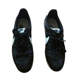 Nike-Classic Cortez nylon-Noir