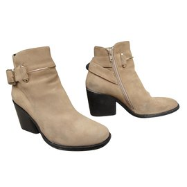 Balenciaga-Bottines-Beige
