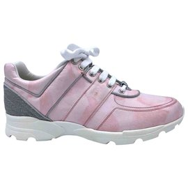 Chanel-Lace ups-Pink