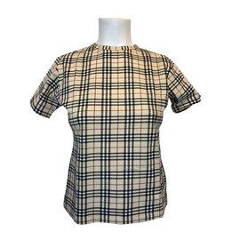 Burberry-tee-shirt-Beige