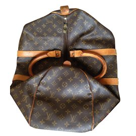 Louis Vuitton-Keepall 45-Marron
