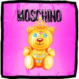 Moschino-Scarves-Pink