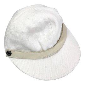 Hermès-Hats-Beige