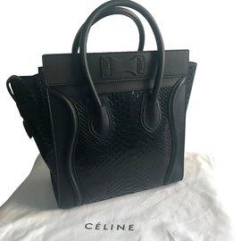 Céline-micro luggage-Noir