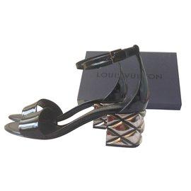 Louis Vuitton-sandals-Black