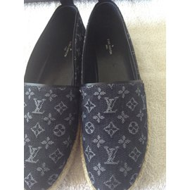Louis Vuitton-Espadrilles-Bleu Marine