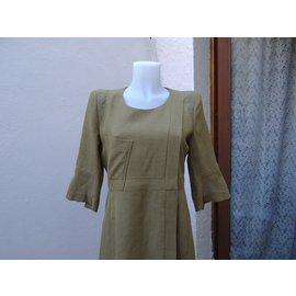 Chloé-Dresses-Khaki