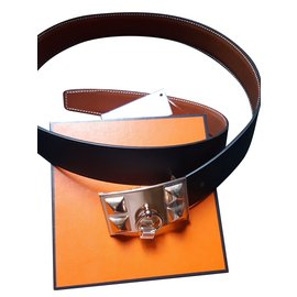 Hermès-Collier de chien Belt-Other