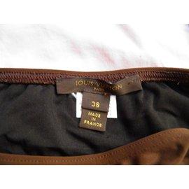 Louis Vuitton-bikini-Marron foncé