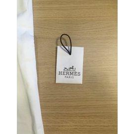 Hermès-Pantalon Saint germain-Écru