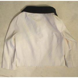 Moschino-veste courte-Blanc