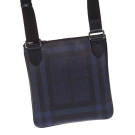 Burberry-Sac à bandoulière-Bleu