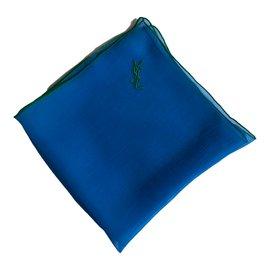 Yves Saint Laurent-Carré-Bleu,Vert