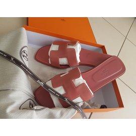 Hermès-Oran Rouge Blush-Pink