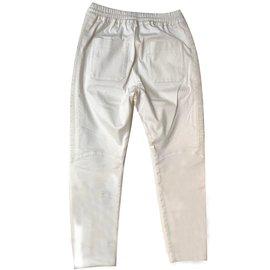 Balmain-Pantalon-Écru