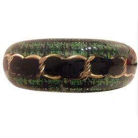 Chanel-Bracelet-Green
