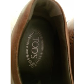 Tod's-Lace ups-Brown