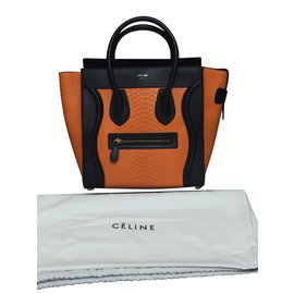 Céline-Micro Luggage-Orange