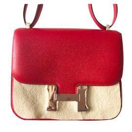 Hermès-Constance 18-Rouge ... 97d4bee6a15