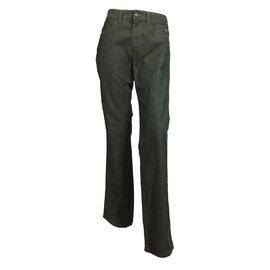 Burberry-Straight jeans-Dark grey