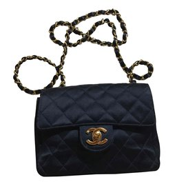 Chanel-Timeless classic flap-Black