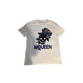 Alexander Mcqueen-Tee shirt-Blanc