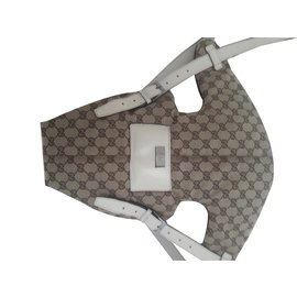 Gucci-Babytrage-Beige