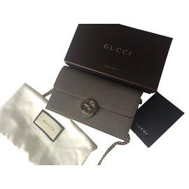 Gucci-Pochette-Gris anthracite