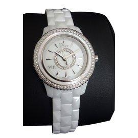 Dior-Montre viii diamants-Blanc
