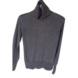 Hermès-Knitwear-Dark grey