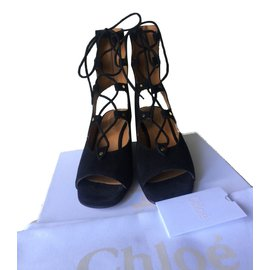 Chloé-sandals-Black