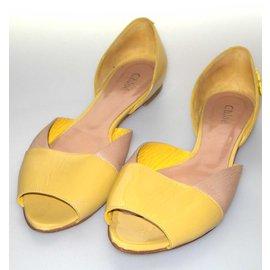 Chloé-Ballet flats-Beige,Yellow