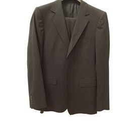 Gucci-Gucci two piece wool classic suit-Black