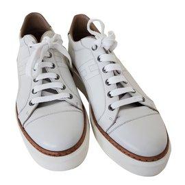 Hermès-Polo sneakers-Blanc