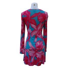 Céline-Robe-Multicolore