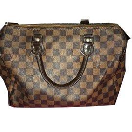 029b25588516 Louis Vuitton-Speedy 30-Marron foncé ...