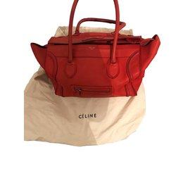 Céline-Tote-Orange