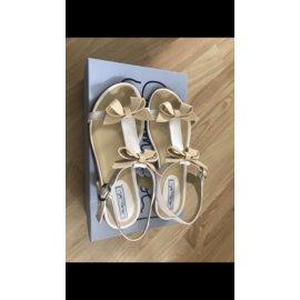 Autre Marque-Kids Sandals-White