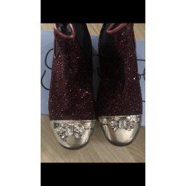 Autre Marque-boots-Dark red