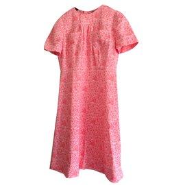 Louis Vuitton-robe-Rose