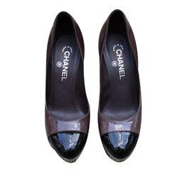 Chanel-Escarpins-Multicolore