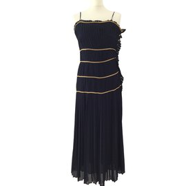 Chanel-Dress-Navy blue