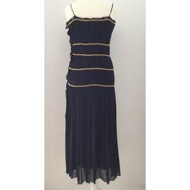 Chanel-Robe-Bleu Marine