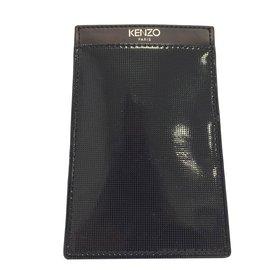 Kenzo-Porte téléphone-Noir