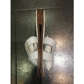 Hermès-Oran sandals-White