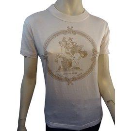 Hermès-Tee shirt-Blanc